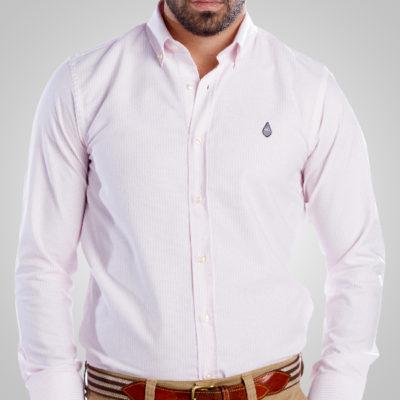 Camisa Oxford Línea Rosa