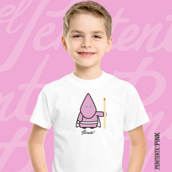 Camiseta PINK AECC kid