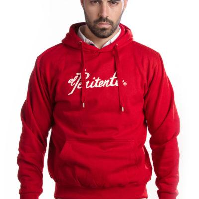 Sudadera capucha roja «El Penitente»