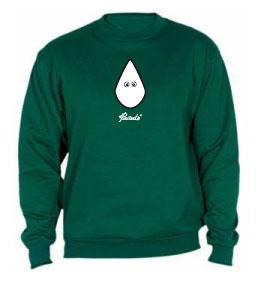 Sudadera clasica verde botella «Capirote»
