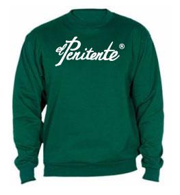 Sudadera clasica verde «El Penitente»